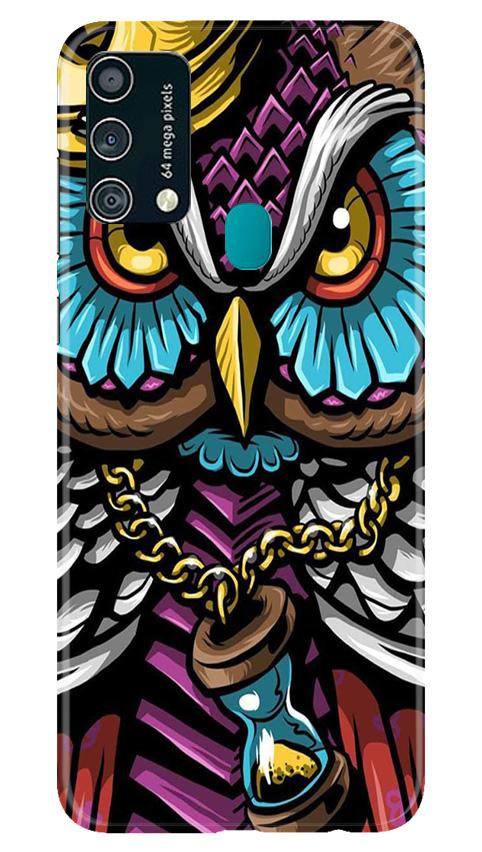 Owl Mobile Back Case for Samsung Galaxy F41 (Design - 359)