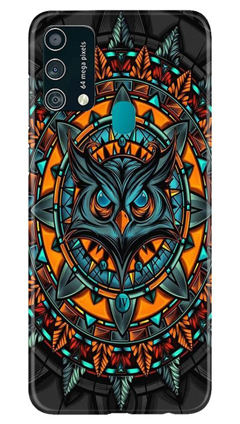 Owl Mobile Back Case for Samsung Galaxy F41 (Design - 360)