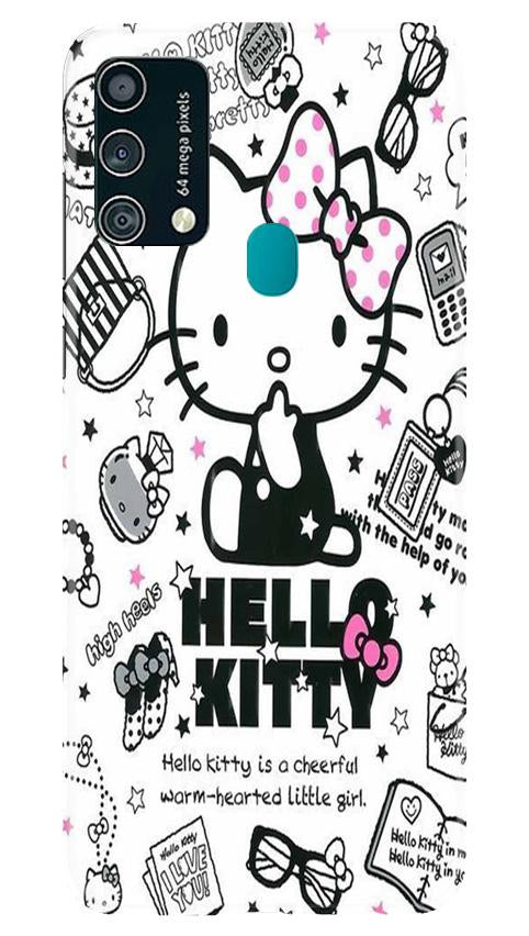 Hello Kitty Mobile Back Case for Samsung Galaxy F41 (Design - 361)