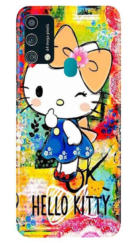 Hello Kitty Mobile Back Case for Samsung Galaxy F41 (Design - 362)