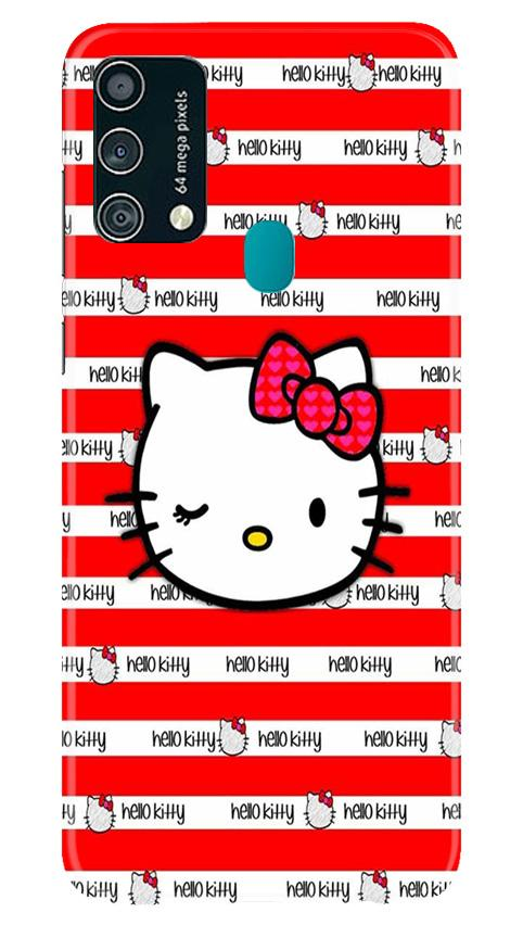 Hello Kitty Mobile Back Case for Samsung Galaxy F41 (Design - 364)