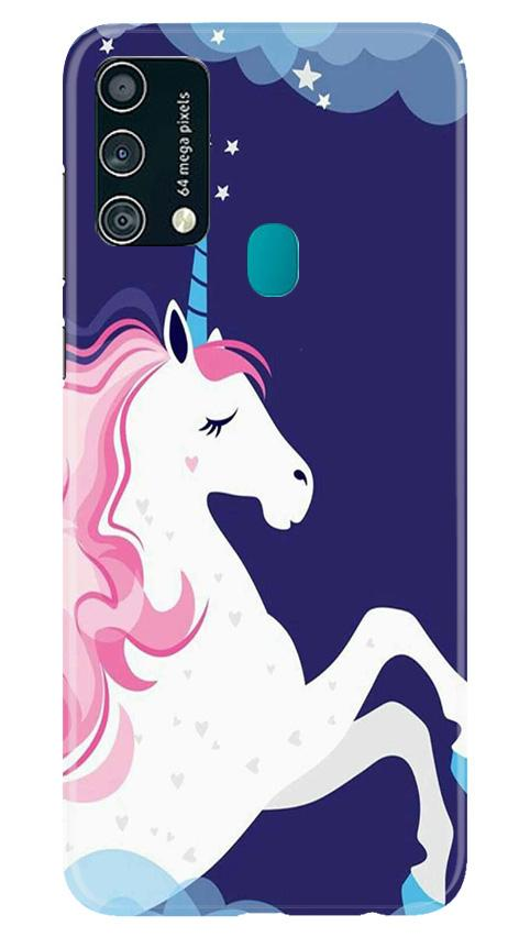 Unicorn Mobile Back Case for Samsung Galaxy F41 (Design - 365)