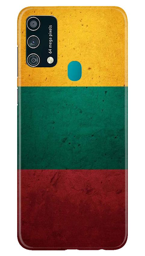 Color Pattern Mobile Back Case for Samsung Galaxy F41 (Design - 374)