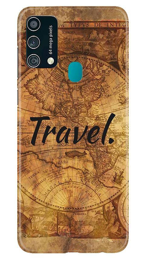 Travel Mobile Back Case for Samsung Galaxy F41 (Design - 375)