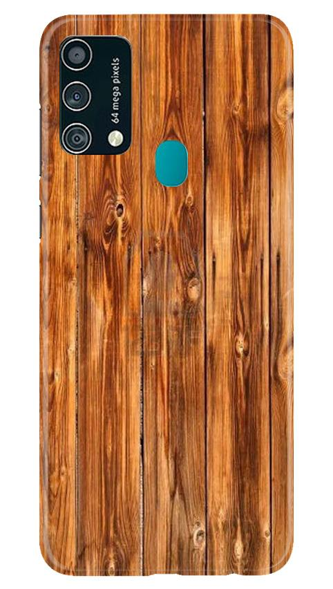Wooden Texture Mobile Back Case for Samsung Galaxy F41 (Design - 376)