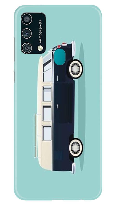 Travel Bus Mobile Back Case for Samsung Galaxy F41 (Design - 379)