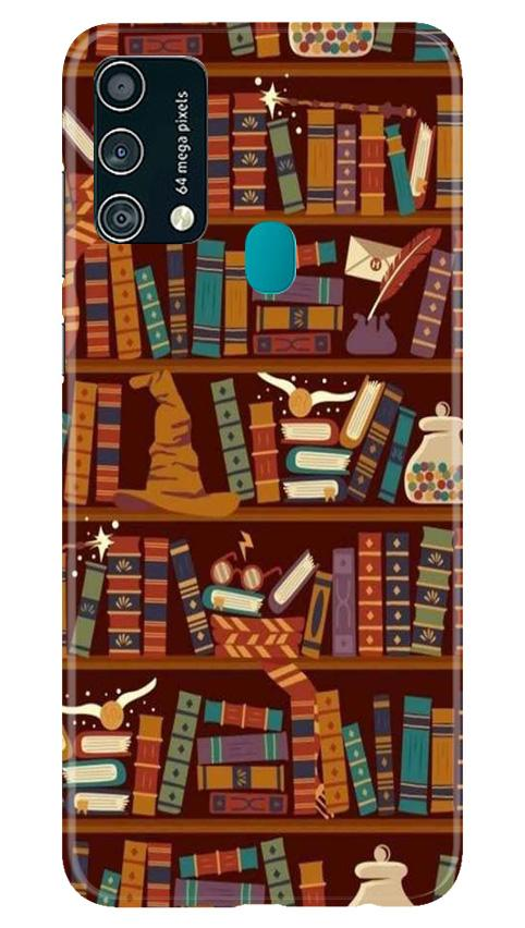Book Shelf Mobile Back Case for Samsung Galaxy F41 (Design - 390)