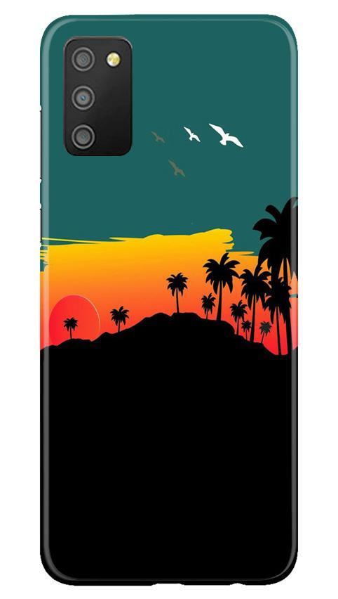 Sky Trees Case for Samsung Galaxy M02s (Design - 191)