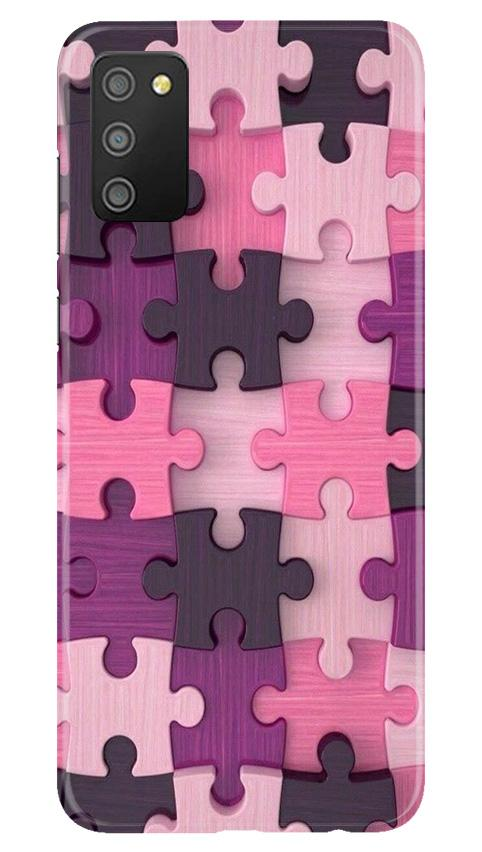 Puzzle Case for Samsung Galaxy M02s (Design - 199)