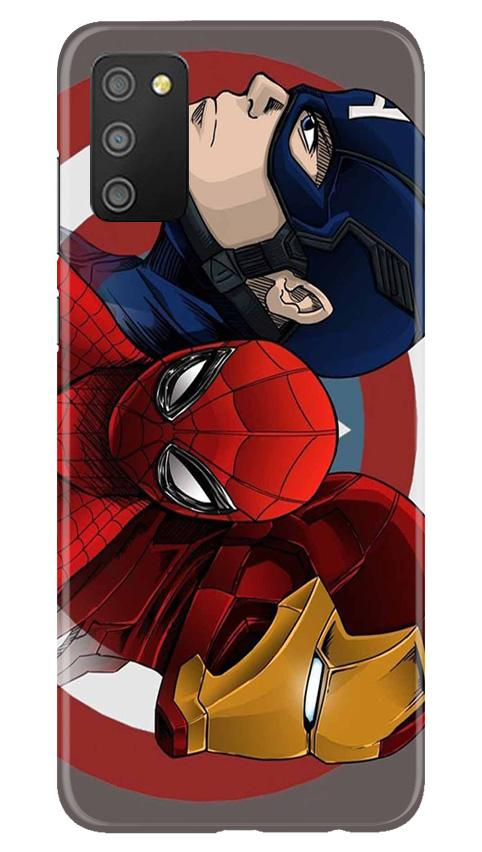 Superhero Mobile Back Case for Samsung Galaxy M02s (Design - 311)