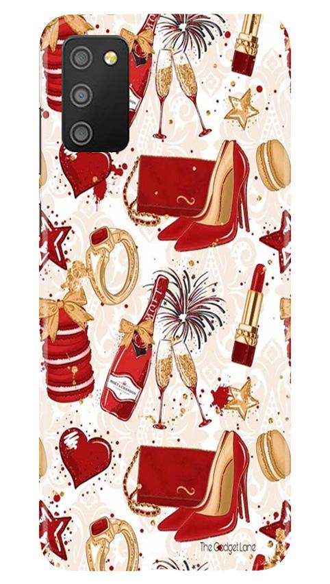 Girlish Mobile Back Case for Samsung Galaxy M02s (Design - 312)