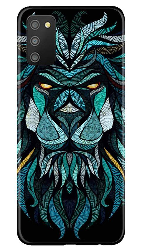 Lion Mobile Back Case for Samsung Galaxy M02s (Design - 314)