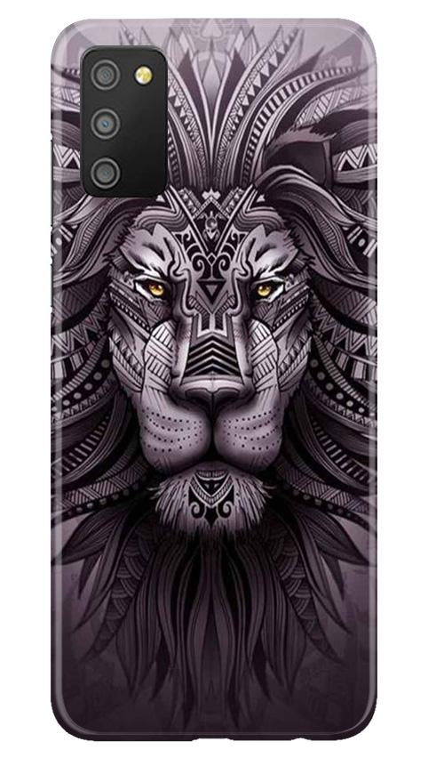 Lion Mobile Back Case for Samsung Galaxy M02s (Design - 315)