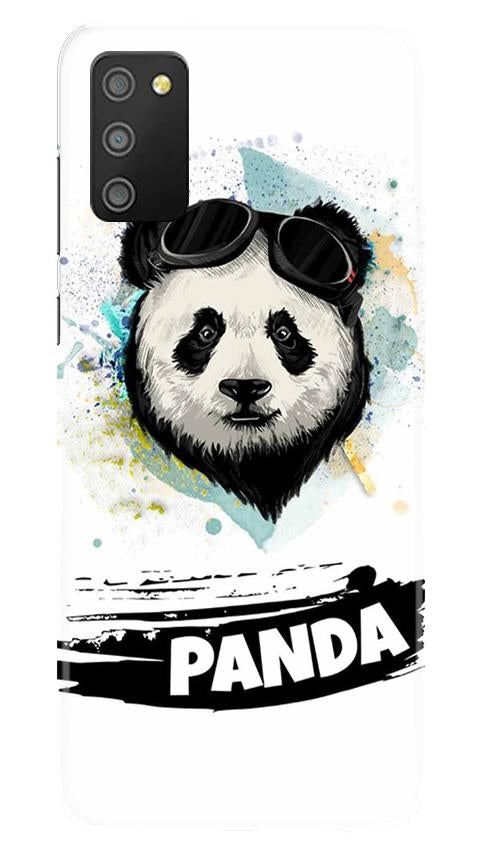 Panda Mobile Back Case for Samsung Galaxy M02s (Design - 319)