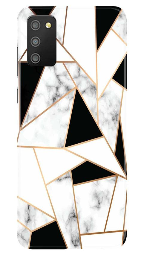 Marble Texture Mobile Back Case for Samsung Galaxy M02s (Design - 322)