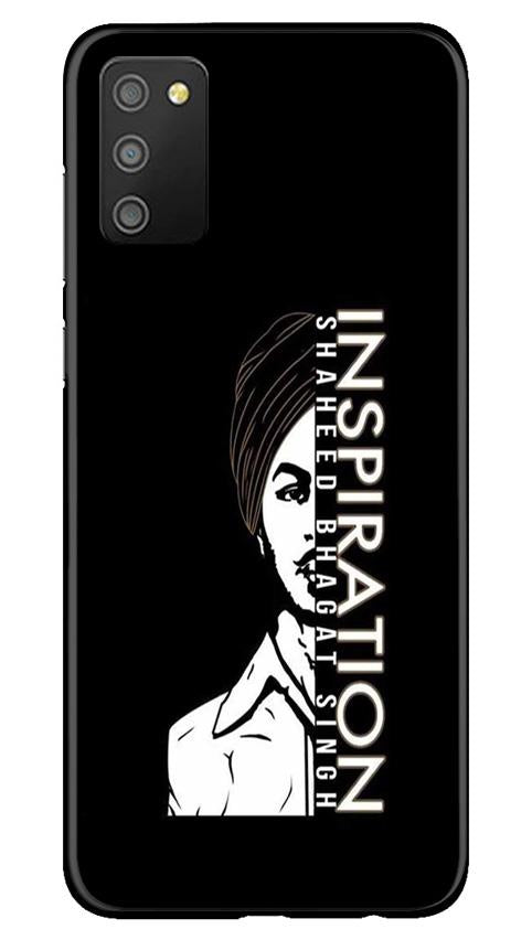 Bhagat Singh Mobile Back Case for Samsung Galaxy M02s (Design - 329)