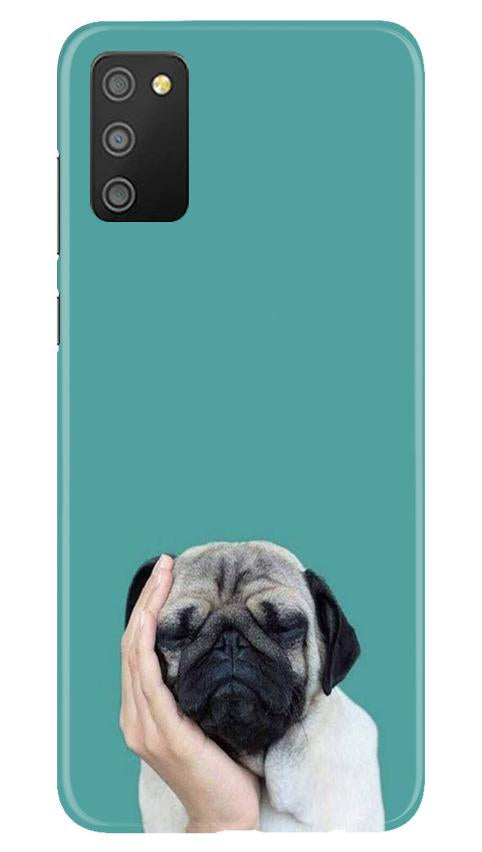 Puppy Mobile Back Case for Samsung Galaxy M02s (Design - 333)