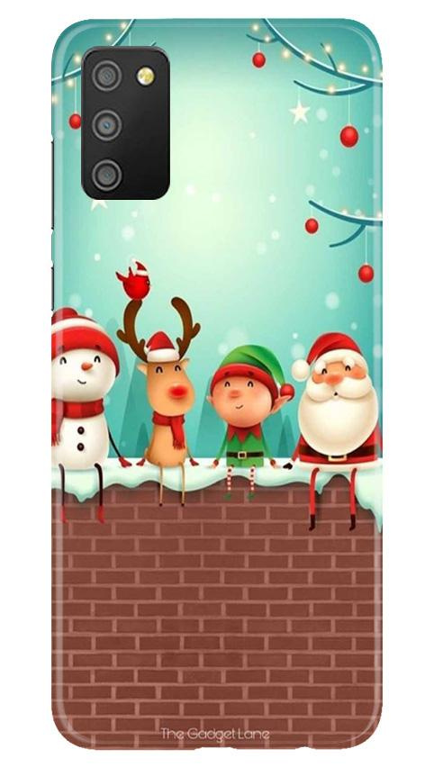 Santa Claus Mobile Back Case for Samsung Galaxy M02s (Design - 334)