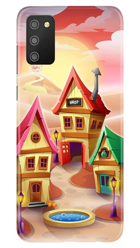 Sweet Home Mobile Back Case for Samsung Galaxy M02s (Design - 338)