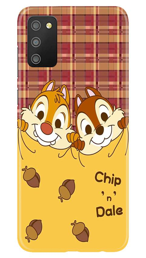 Chip n Dale Mobile Back Case for Samsung Galaxy M02s (Design - 342)