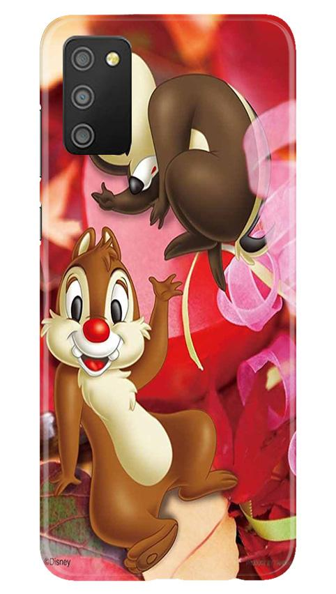 Chip n Dale Mobile Back Case for Samsung Galaxy M02s (Design - 349)