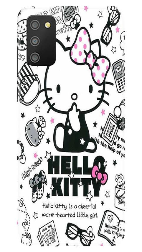 Hello Kitty Mobile Back Case for Samsung Galaxy M02s (Design - 361)