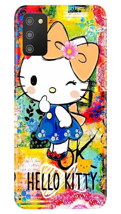 Hello Kitty Mobile Back Case for Samsung Galaxy M02s (Design - 362)