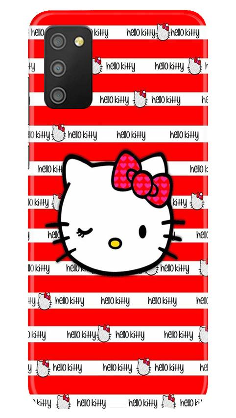Hello Kitty Mobile Back Case for Samsung Galaxy M02s (Design - 364)