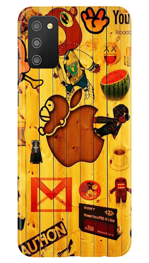 Wooden Texture Mobile Back Case for Samsung Galaxy M02s (Design - 367)