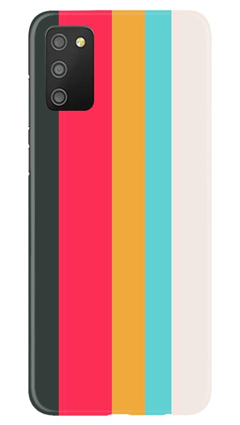 Color Pattern Mobile Back Case for Samsung Galaxy M02s (Design - 369)