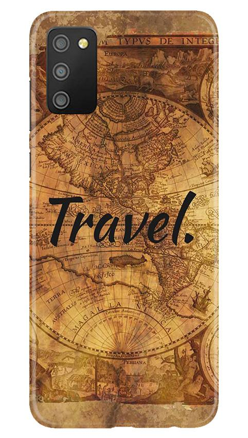 Travel Mobile Back Case for Samsung Galaxy M02s (Design - 375)