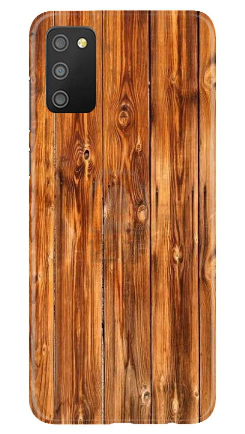 Wooden Texture Mobile Back Case for Samsung Galaxy M02s (Design - 376)
