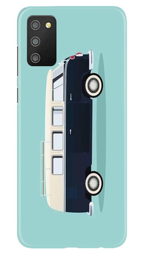 Travel Bus Mobile Back Case for Samsung Galaxy M02s (Design - 379)