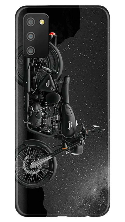 Royal Enfield Mobile Back Case for Samsung Galaxy M02s (Design - 381)