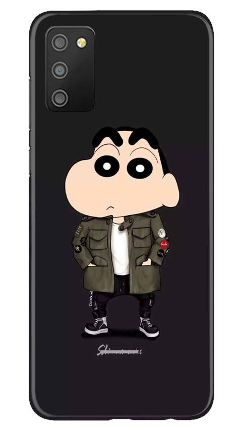 Shin Chan Mobile Back Case for Samsung Galaxy M02s (Design - 391)