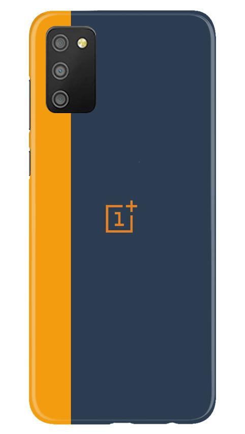 Oneplus Logo Mobile Back Case for Samsung Galaxy M02s (Design - 395)
