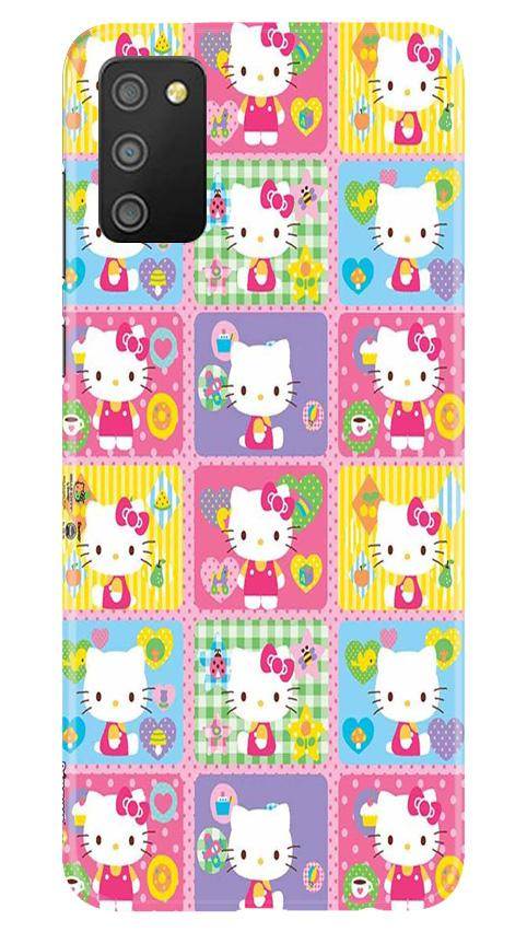 Kitty Mobile Back Case for Samsung Galaxy M02s (Design - 400)