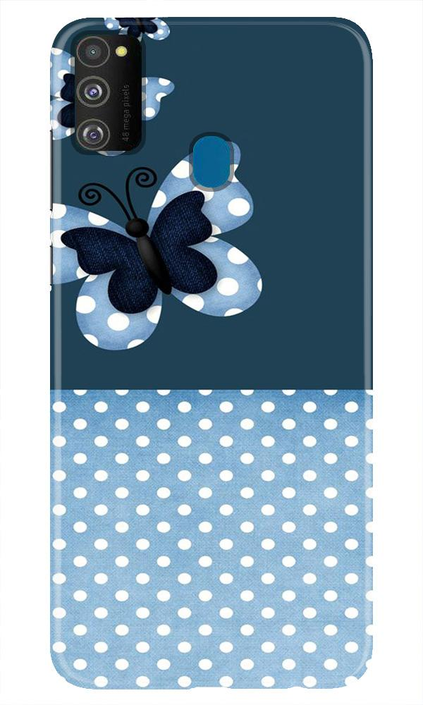 White dots Butterfly Case for Samsung Galaxy M21