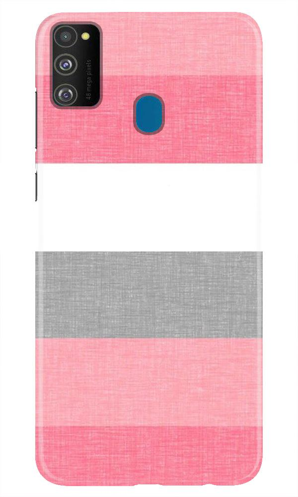 Pink white pattern Case for Samsung Galaxy M21