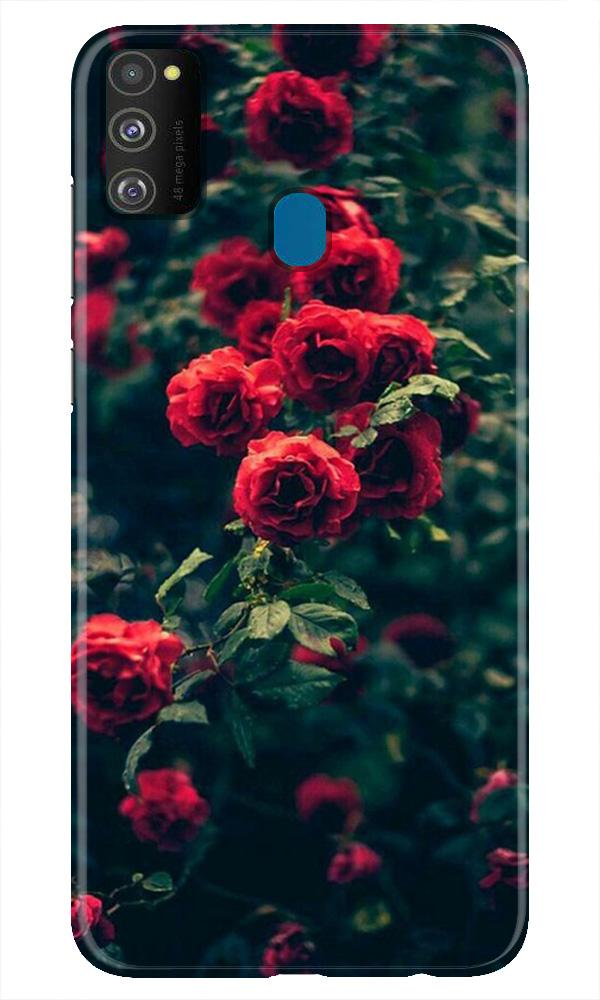 Red Rose Case for Samsung Galaxy M21