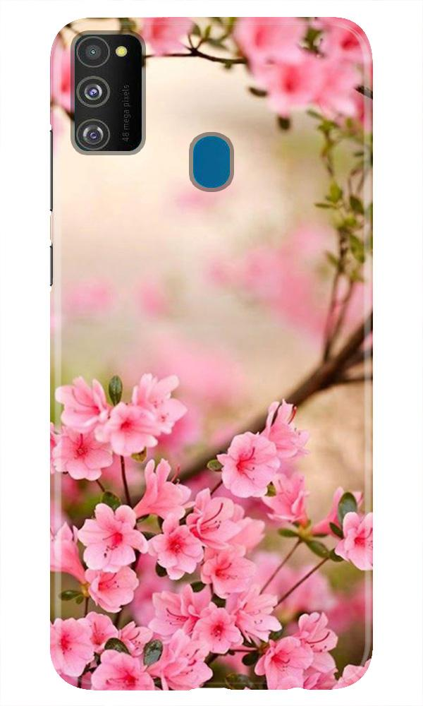 Pink flowers Case for Samsung Galaxy M21