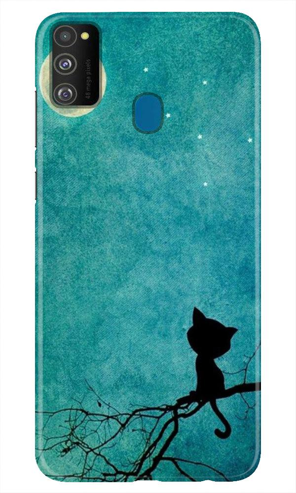 Moon cat Case for Samsung Galaxy M21