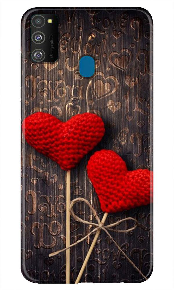 Red Hearts Case for Samsung Galaxy M21