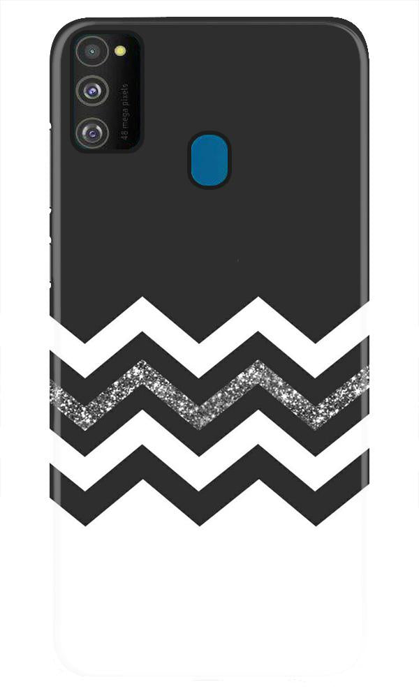 Black white Pattern2Case for Samsung Galaxy M21