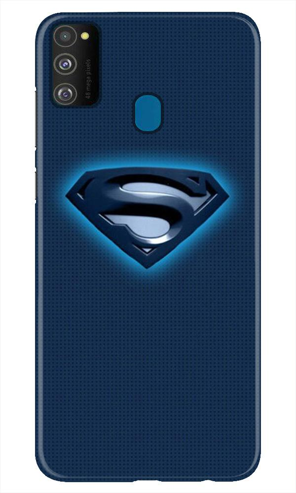 Superman Superhero Case for Samsung Galaxy M21  (Design - 117)