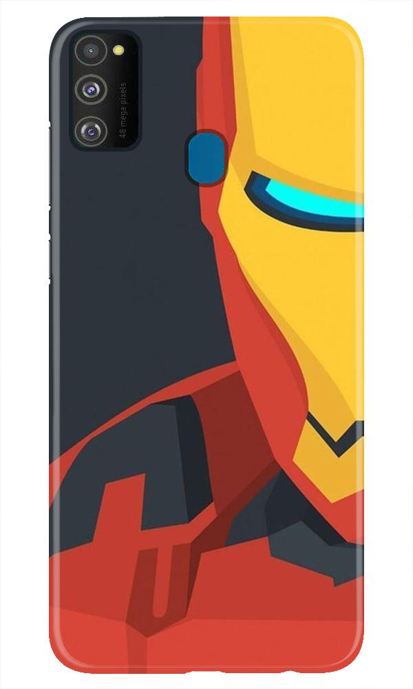 Iron Man Superhero Case for Samsung Galaxy M21  (Design - 120)