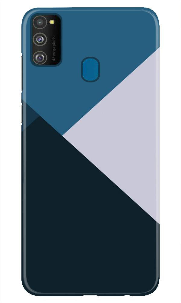 Blue Shades Case for Samsung Galaxy M21 (Design - 188)