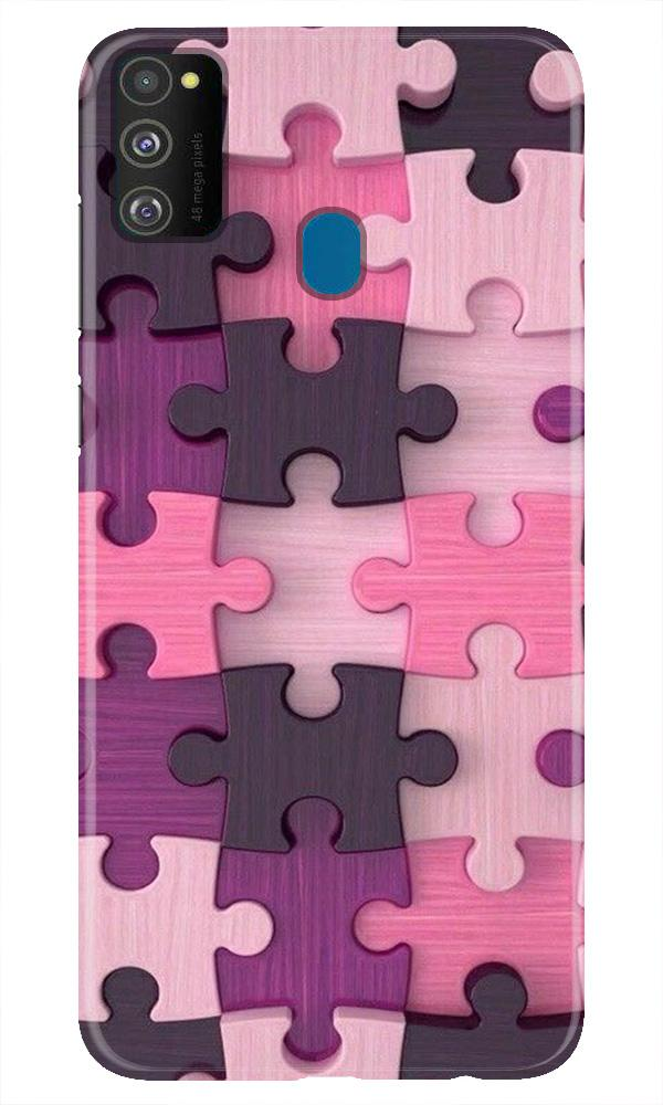 Puzzle Case for Samsung Galaxy M21 (Design - 199)