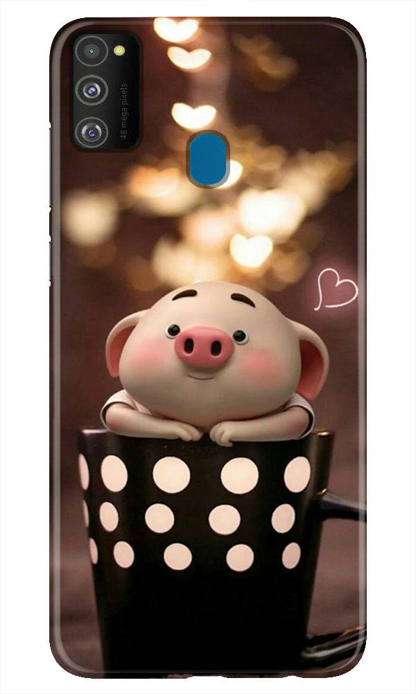 Cute Bunny Case for Samsung Galaxy M21 (Design No. 213)