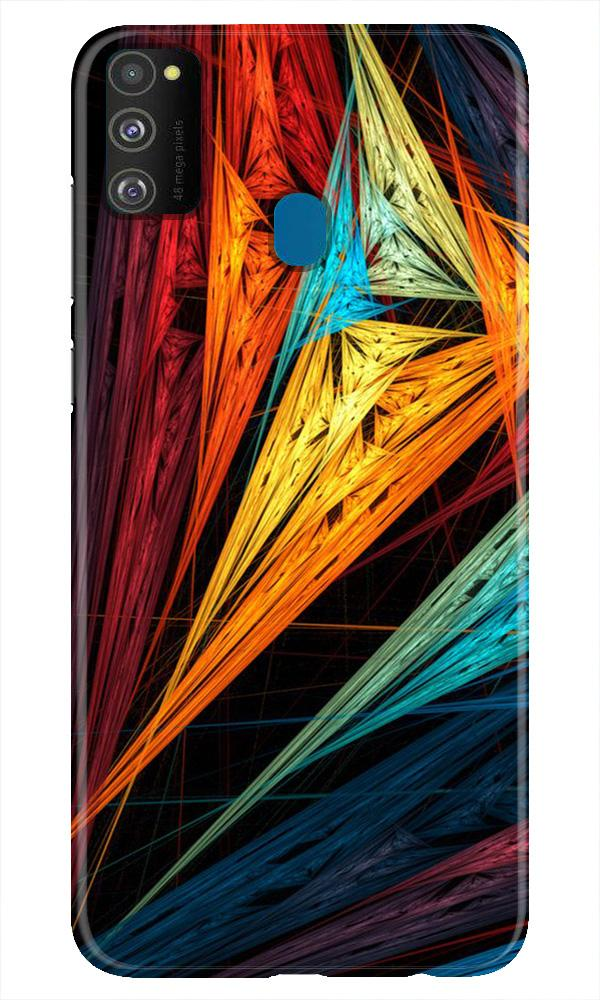 Modern Art Case for Samsung Galaxy M21 (Design No. 229)